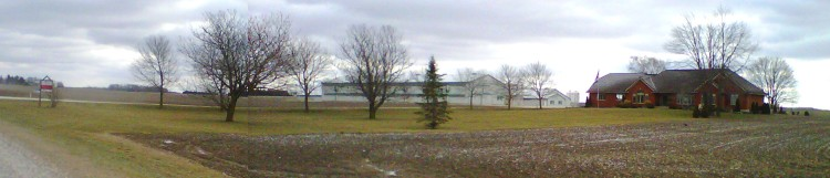 A chicken farm in Ontario