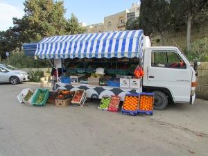 Vegetable Truck