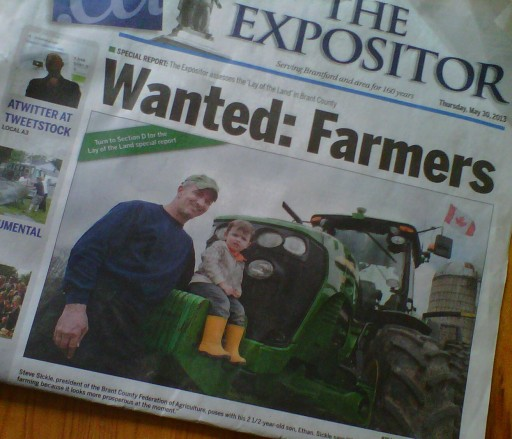 Wanted: Farmers
