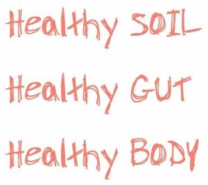 healthy soil healthy gut