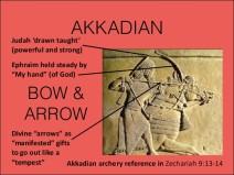 akkadian bow and arrow